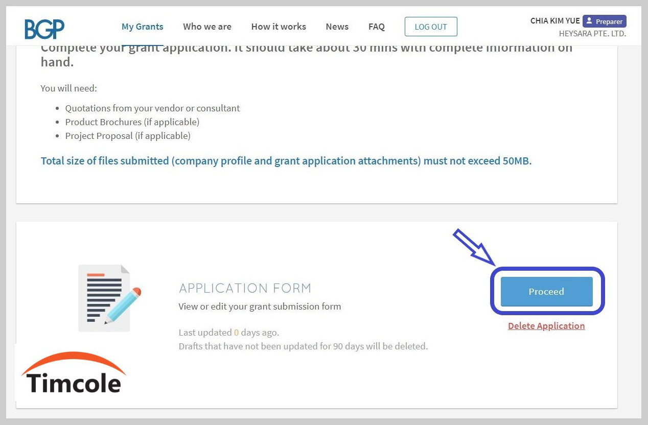 Step-6-of-PSG-application-for-Xero-Timcole